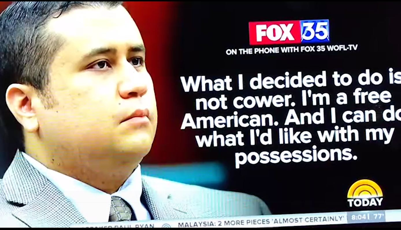 Image result for photos of george zimmerman on fox tv