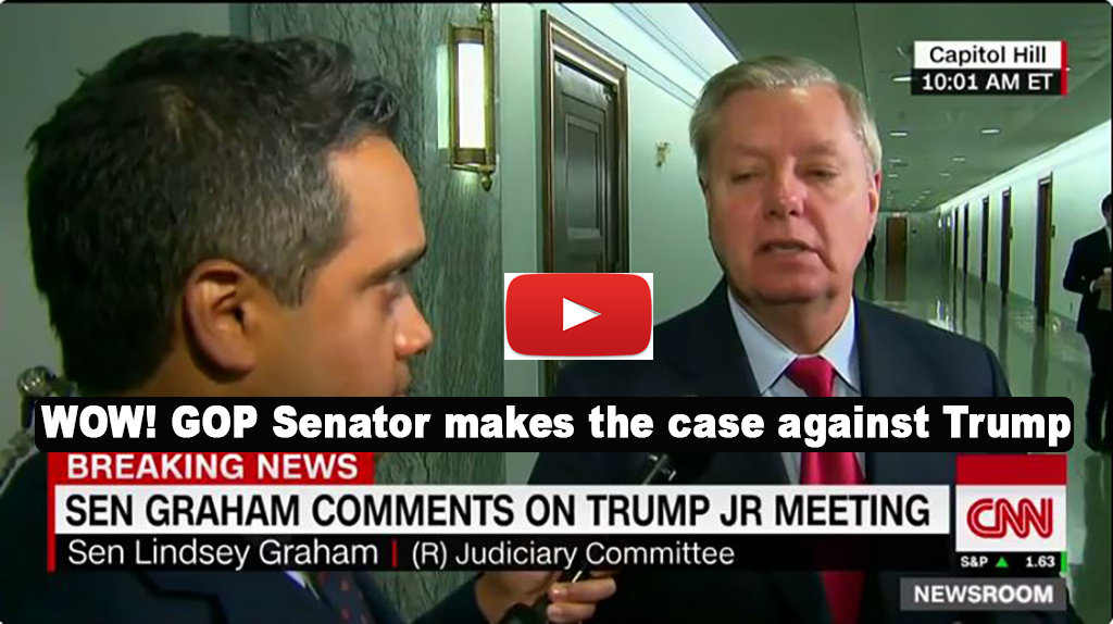 WOW! GOP Senator makes case that Trump campaign colluded with Russia